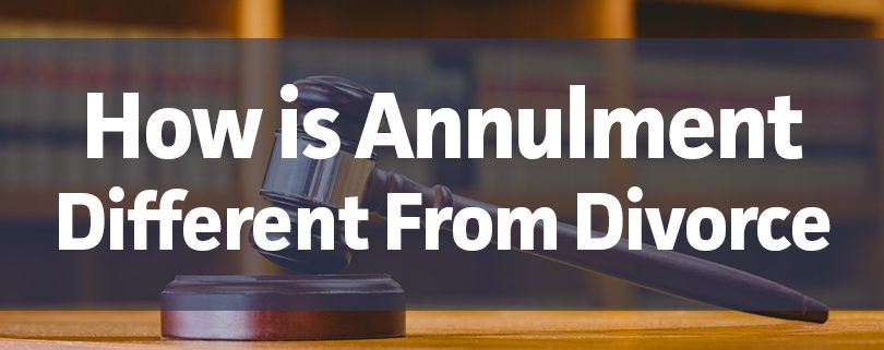 how-is-annulment-different-from-divorce