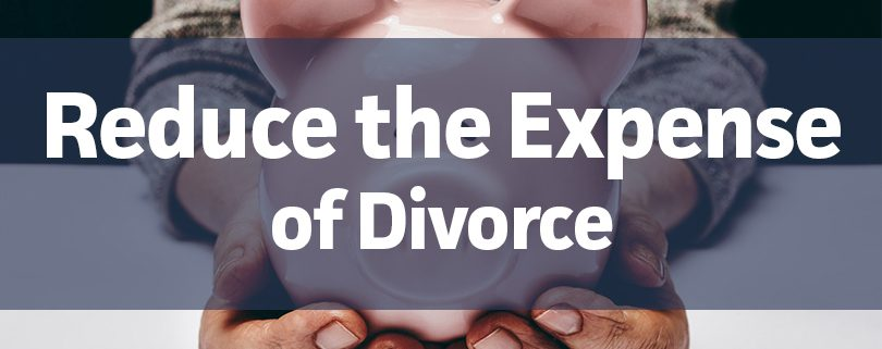 reduce the expense of divorce