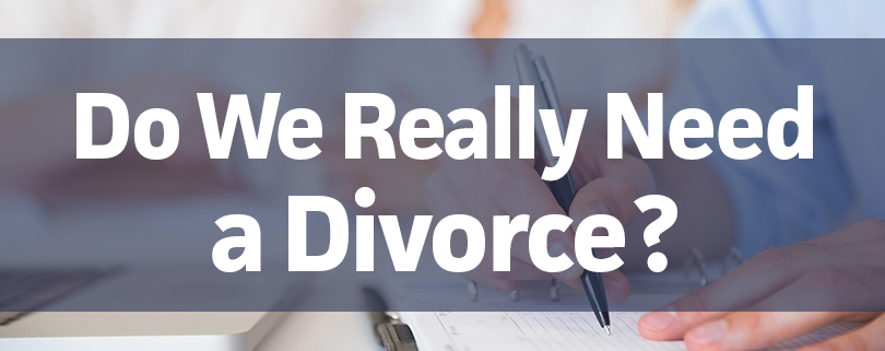 How do you know you need a divorce